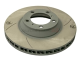 99735140601 Sebro Slotted & Coated Disc Brake Rotor; Directional Front Right