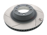 99735240502 Sebro Slotted & Coated Disc Brake Rotor