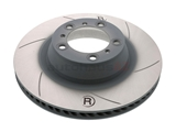 99735240602 Sebro Slotted & Coated Disc Brake Rotor