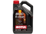 102051 Motul 8100 X-clean Engine Oil; 5W-40 Synthetic; 5 Liter