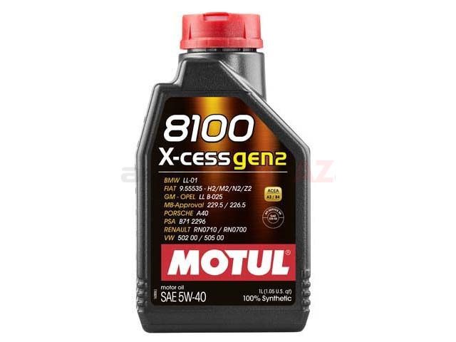 102784 Motul 8100 X-cess Engine Oil
