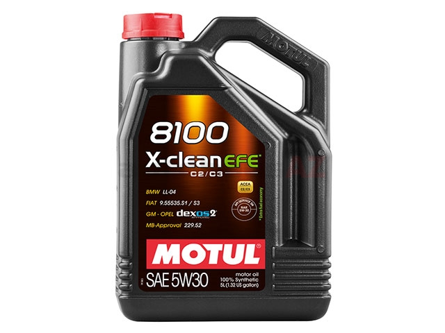 107206 Motul 8100 X-clean EFE Engine Oil