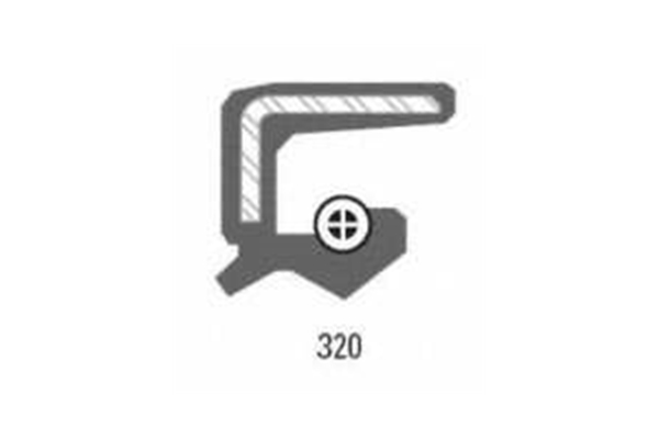 710324 Timken Manual Trans Extension Housing Seal; Rear