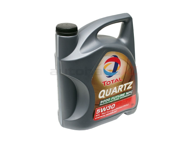183199 Total Quartz 9000 Future NFC Engine Oil; 5W-30 Synthetic; 5 Liter