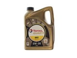 188058 Total Quartz INEO Long Life Engine Oil; 5W-30 Synthetic; 5 Quart; Low SAPS Formula