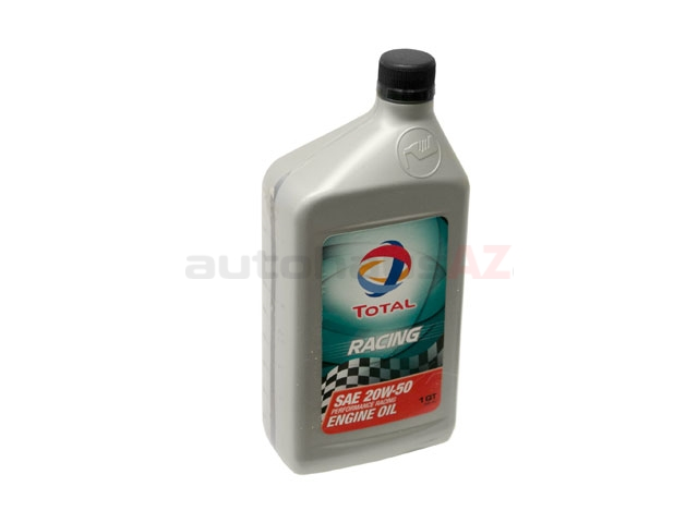194706 Total Classic Racing Engine Oil; 20W-50 Conventional; 1 Quart