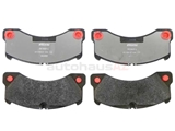971698151E Textar Brake Pad Set; Front