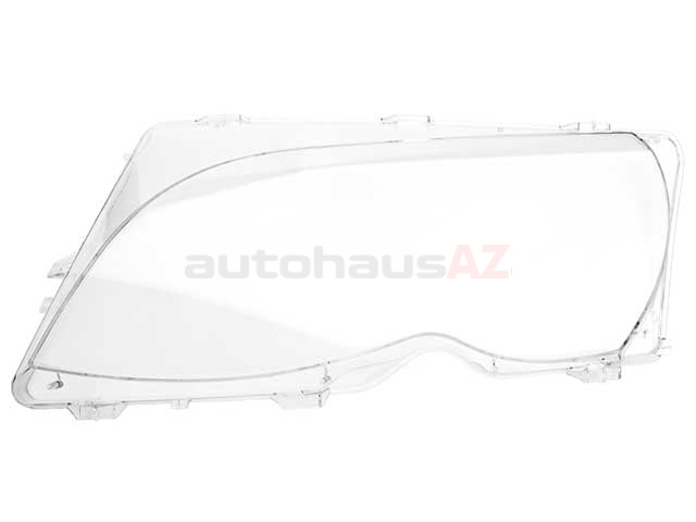 63126923411 URO Parts Headlight Lens; Left