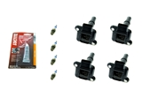 VAG4TUNEUPKIT AAZ Preferred Ignition Tune-Up Kit; Ignition Coils and Spark Plugs; KIT