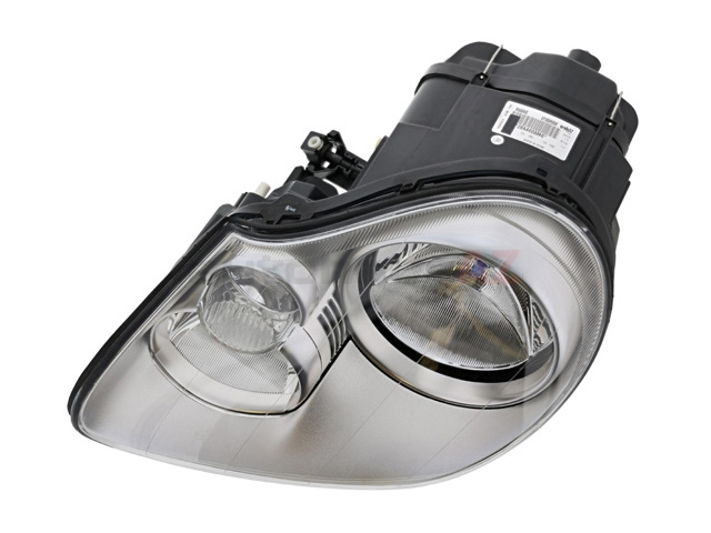 95563115351 Valeo Headlight Assembly; Left; Halogen
