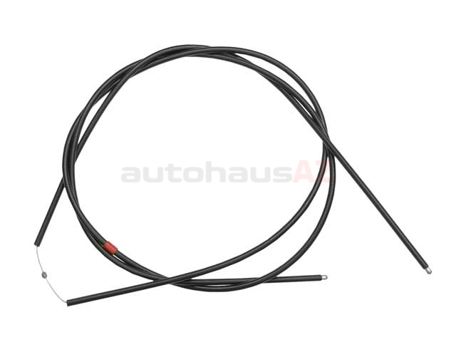 genuine volvo vo-9170365 hood release cable