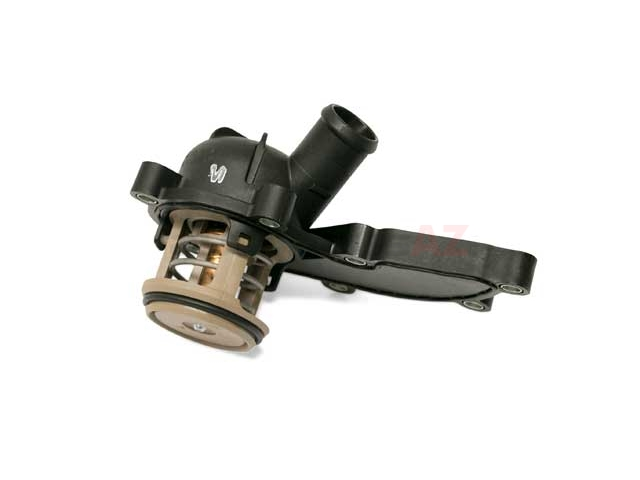 06E121111M Genuine Audi Thermostat; 88C with Housing