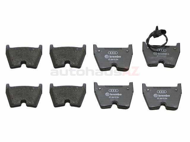 420698151F Genuine Audi Brake Pad Set