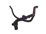 VW-7D0121156K Genuine VW/Audi Coolant Hose; Throttle Housing to Heat Exhanger to Cylinder Head