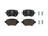 7N0698451A Genuine VW/Audi Brake Pad Set