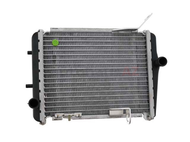 8E0121212J Genuine Audi Radiator; Auxiliary Radiator; Right Side