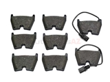 VW-8E0698151Q Genuine Audi Brake Pad Set