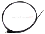 8E1823531D Genuine Audi Hood Release Cable