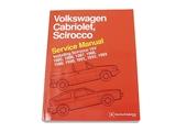 Vw8000110 Robert Bentley Repair Manual Book Version 1985 1988 Vw Rabbit Convertible