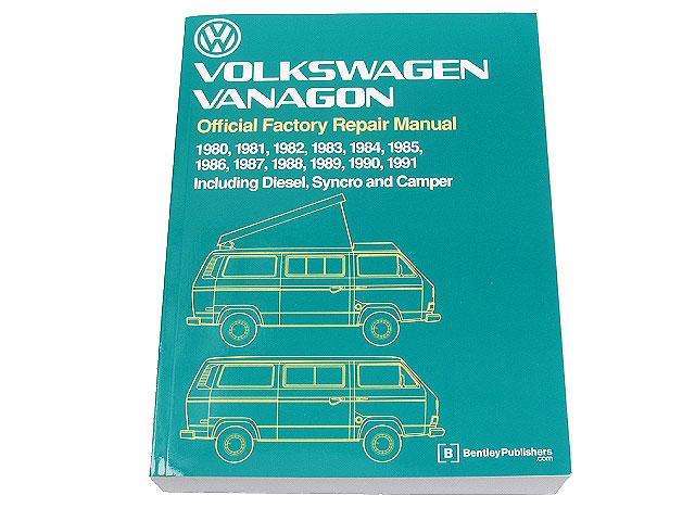robert bentley vw8000148 repair manual book version 1980 1992 vw rh autohausaz com VW Westfalia VW Bus