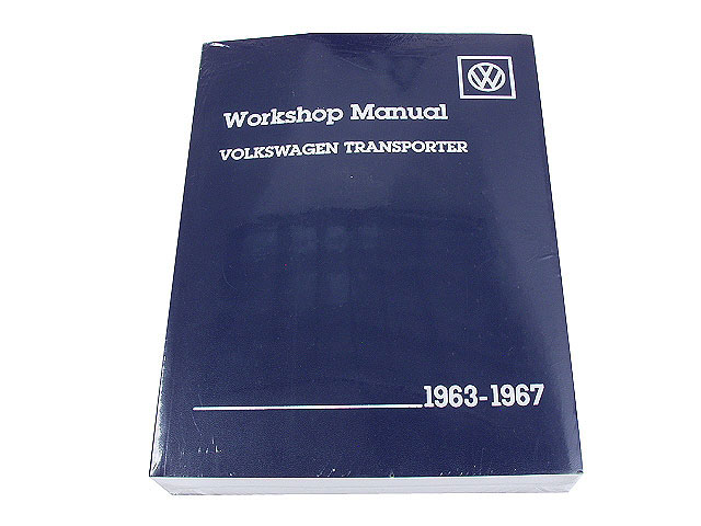 VW8000267 Robert Bentley Repair Manual - Book Version1963-1967 VW Type 2; OE Factory Authorized