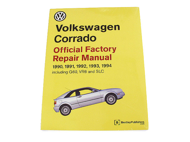 1992 vw corrado repair manuals autohausaz rh autohausaz com bentley corrado manual pdf Bentley Station Wagon