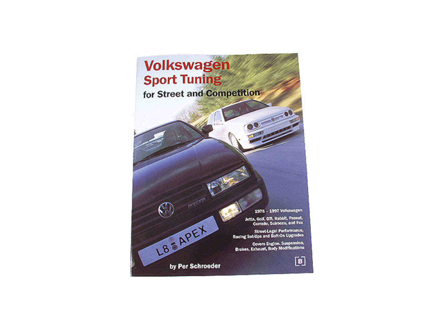 VW8001000 Robert Bentley Repair Manual - Book Version; VW Sport Tuning for Street and Competition