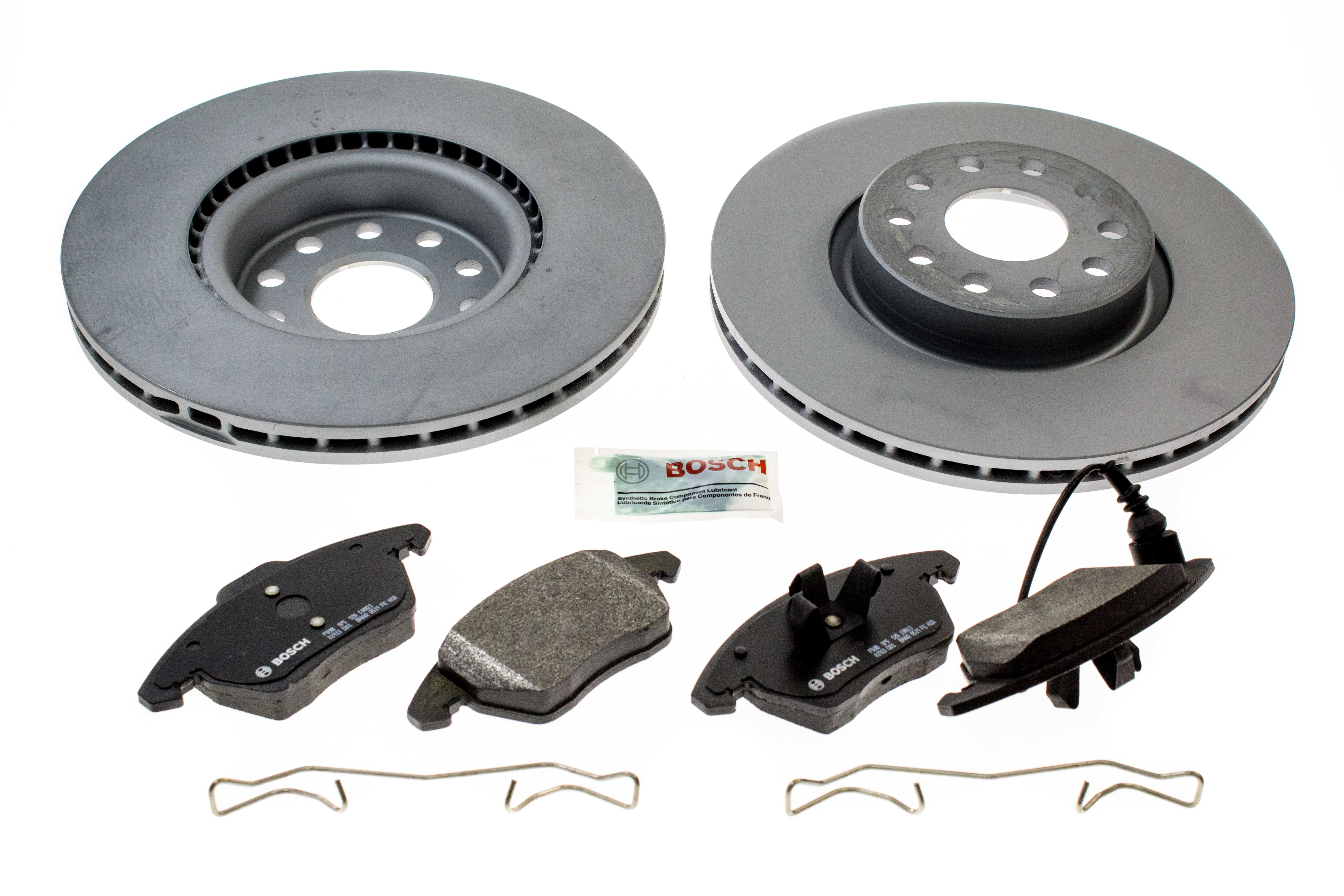 Brake Pads And Rotors Prices >> Aaz Preferred Vwftbrk2kit Disc Brake Pad And Rotor Kit Front 312mm Kit Audi Vw