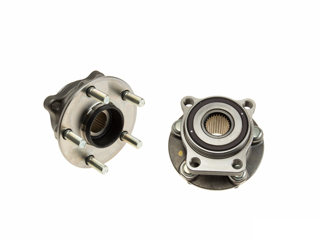 WE60548 BCA Axle Bearing and Hub Assembly