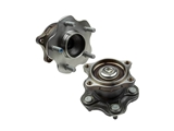 WE60567 BCA Axle Bearing and Hub Assembly