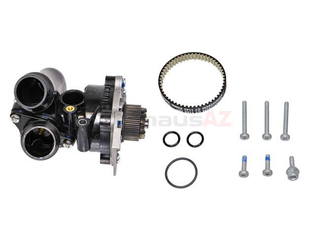 WPC0016 Rein Water Pump; Complete Assembly with Housing and Thermostat