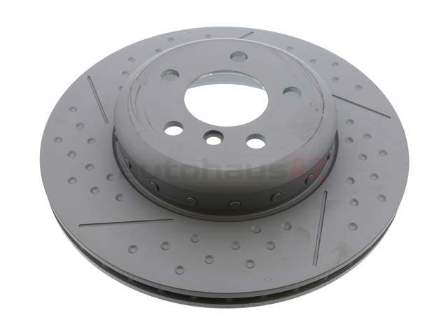 34206797600 Zimmermann Formula F Disc Brake Rotor; Rear