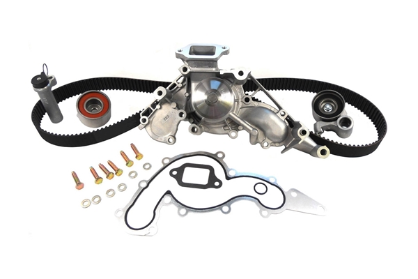 TCKWP298 Gates Timing Belt Kit with Water Pump; PowerGrip Premium OE Timing Belt Component Kit W/Water Pump