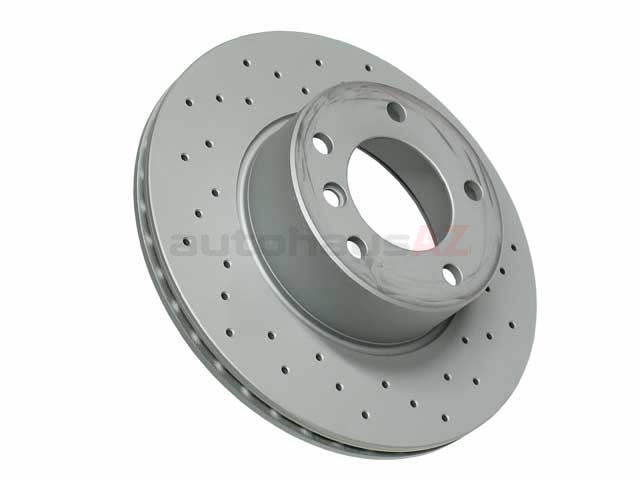 34116767061 Zimmermann Sport Z X-Drilled Disc Brake Rotor