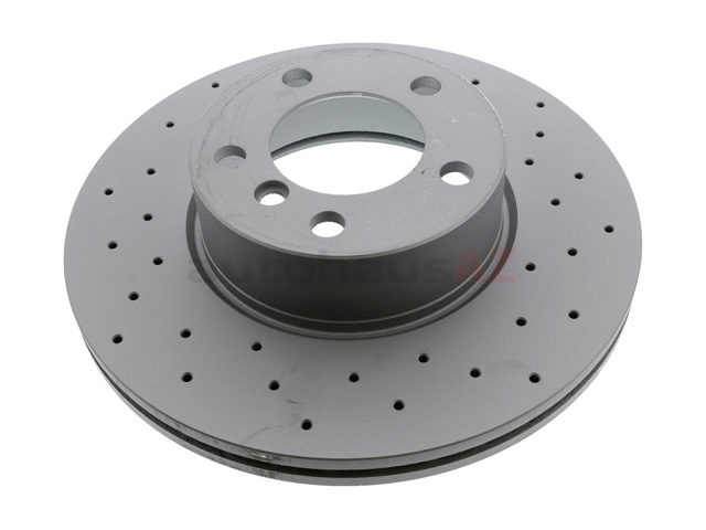 34116792219 Zimmermann Sport Z X-Drilled Disc Brake Rotor