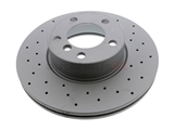 34116792219 Zimmermann Coat Z X-Drilled Disc Brake Rotor