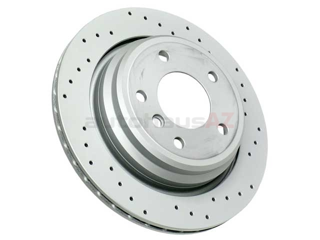 34216767060 Zimmermann Sport Z X-Drilled Disc Brake Rotor