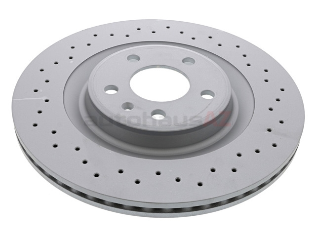 4H0615601Q Zimmermann Sport Z X-Drilled Disc Brake Rotor