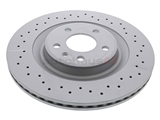 ZX-4H0615601Q Zimmermann Coat Z X-Drilled Disc Brake Rotor