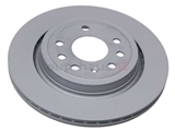 12762291 Zimmermann Coat Z Disc Brake Rotor; Rear