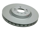 1664211300 Zimmermann Coat Z Disc Brake Rotor; Front Vented; 330 X 32mm