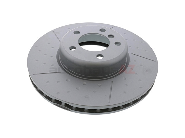 34106797602 Zimmermann Coat Z Disc Brake Rotor; Front