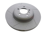 34106797603 Zimmermann Coat Z Disc Brake Rotor; Front