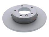 34116757751 Zimmermann Coat Z Disc Brake Rotor; Front; Solid 286x12mm