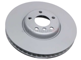34116785670 Zimmermann Coat Z Disc Brake Rotor; Front Right Directional; 348x36mm