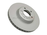 ZZ-34116792223 Zimmermann Coat Z Disc Brake Rotor; Front; 340 x 30mm