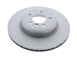 ZZ-34206797607 Zimmermann Coat Z Disc Brake Rotor; Rear; Vented 345x24mm