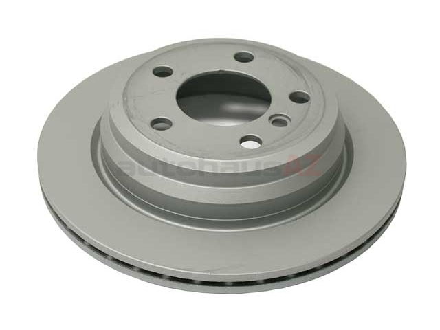 34216864900 Zimmermann Coat Z Disc Brake Rotor; Rear