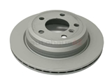 ZZ-34216864900 Zimmermann Coat Z Disc Brake Rotor; Rear