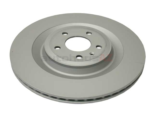 4H0615601P Zimmermann Coat Z Disc Brake Rotor; Rear